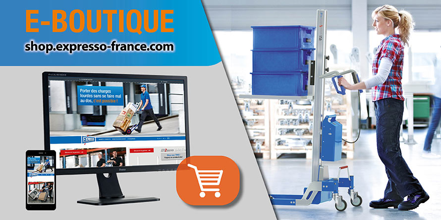 E-boutique :  Manutention & levage ergonomique